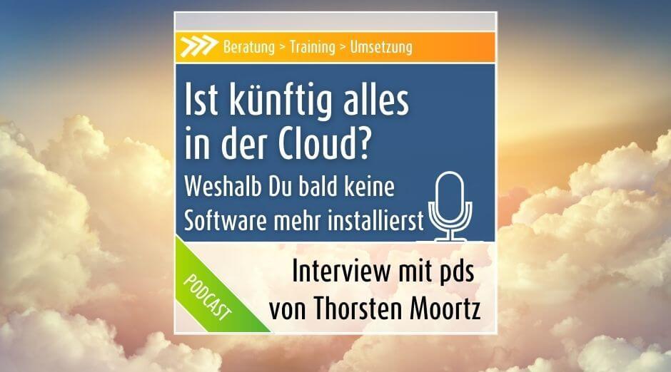 """Podcast: Ist """"die Cloud"""" wirklich """"die Zukunft""""?"""
