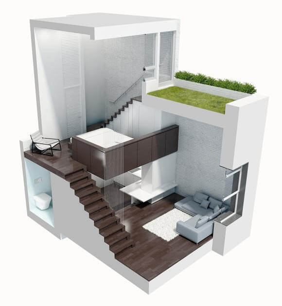 Wohntrends Micro-Living