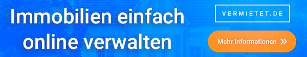 Immobilien einfach online verwalten mit vermietet.de
