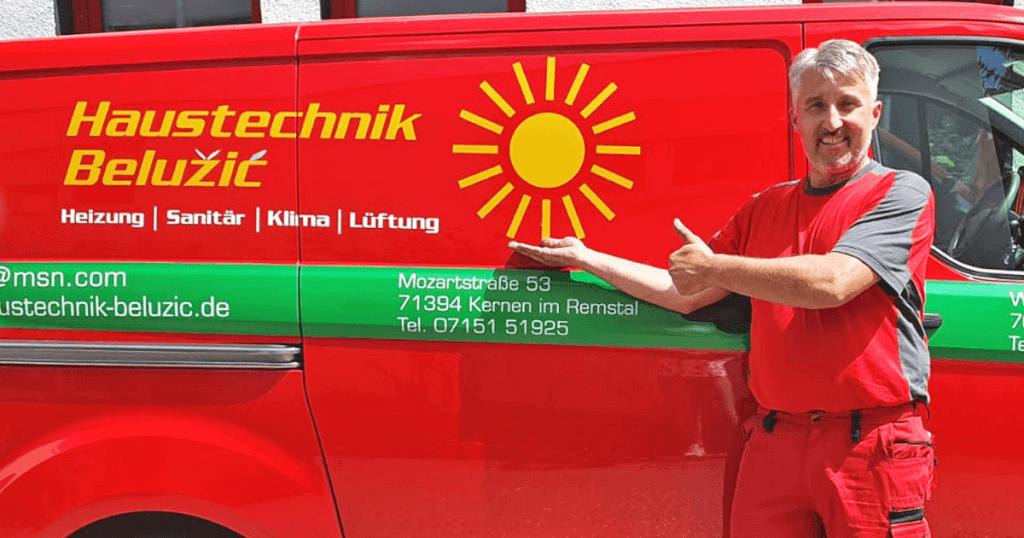 Der Fortschritt liegt beim Kunden - Haustechnik Belužić hat Neugier zum Geschäftsmodell gemacht