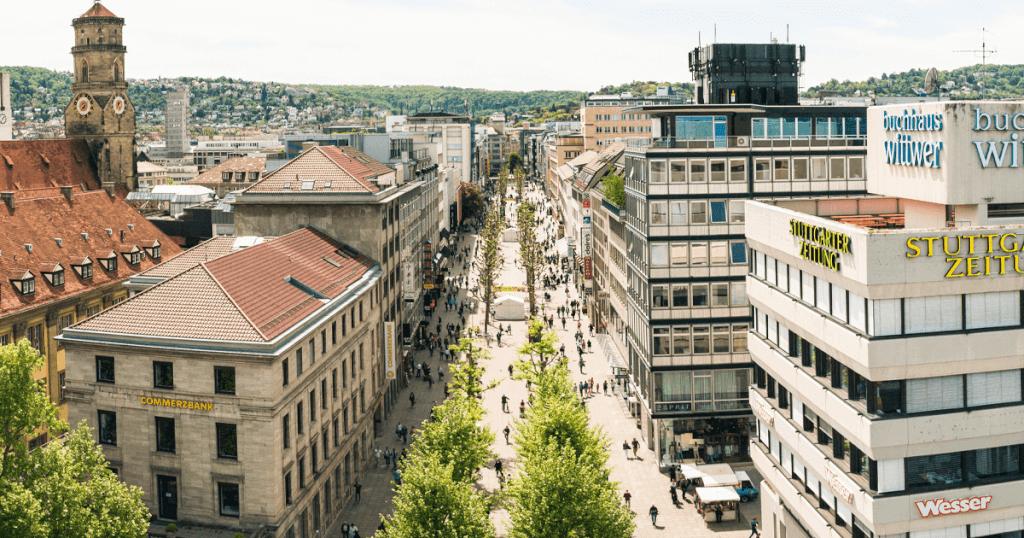 Königstraße Stuttgart - Wohin geht die Reise der berühmten Einkaufsmeile?