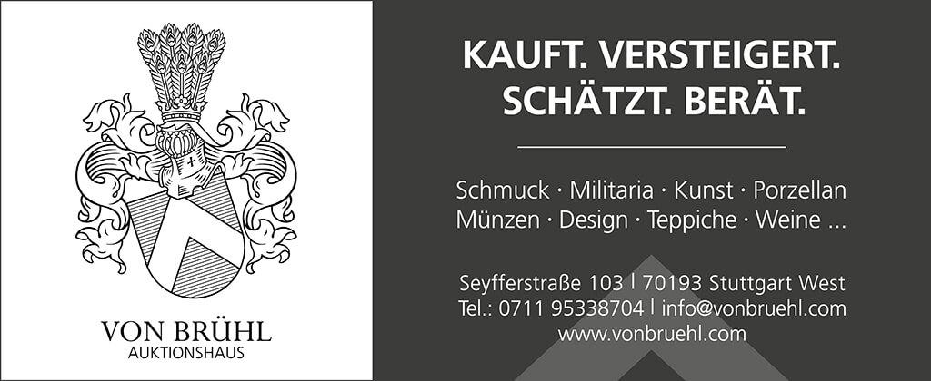 Auktionshaus Stuttgart Von Brühl: Experten für Kunst und Antiquitäten