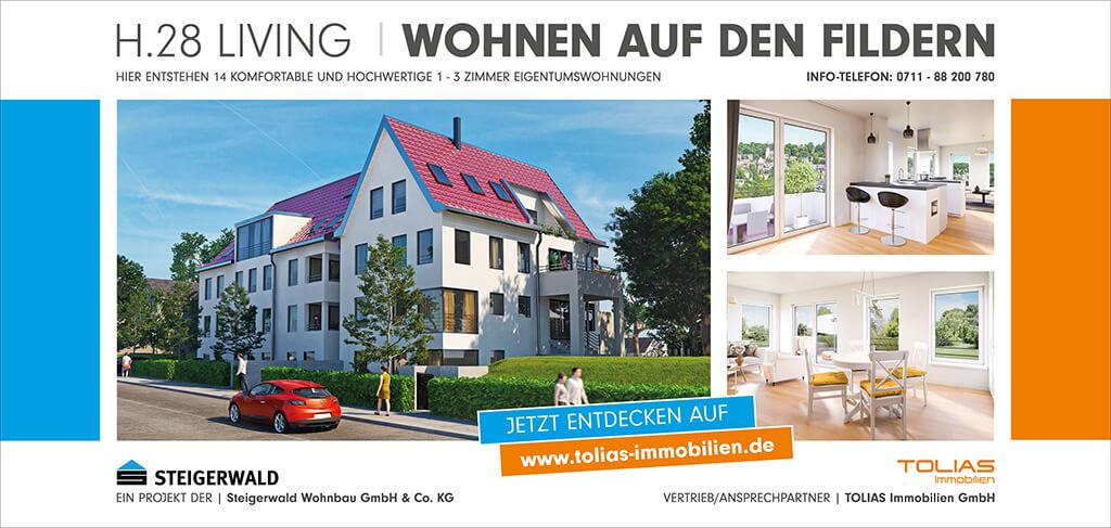 H.28 Living - Wohnen auf den Fildern