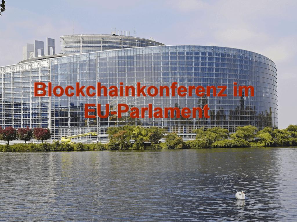 Blockchainkonferenz im EU-Parlament