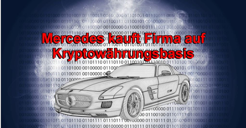 Mercedes kauft Bitcoin Firma - Mercedes Kryptowährung? - Mercedes Pay