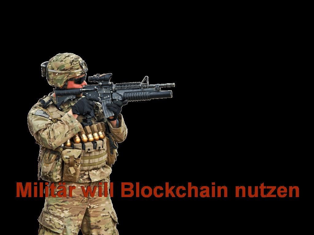 Militär möchte Blockchain sich zunutze machen