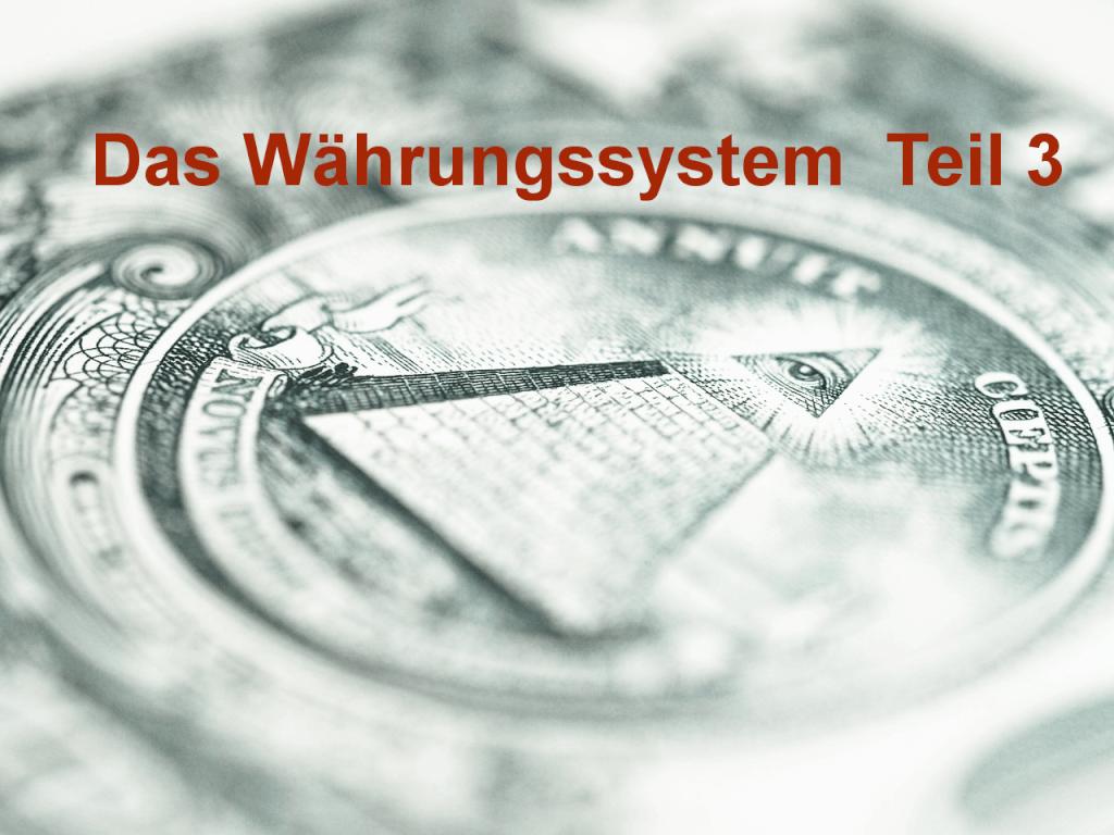 Das Währungssystem Teil 3 - Dax und Zinsen
