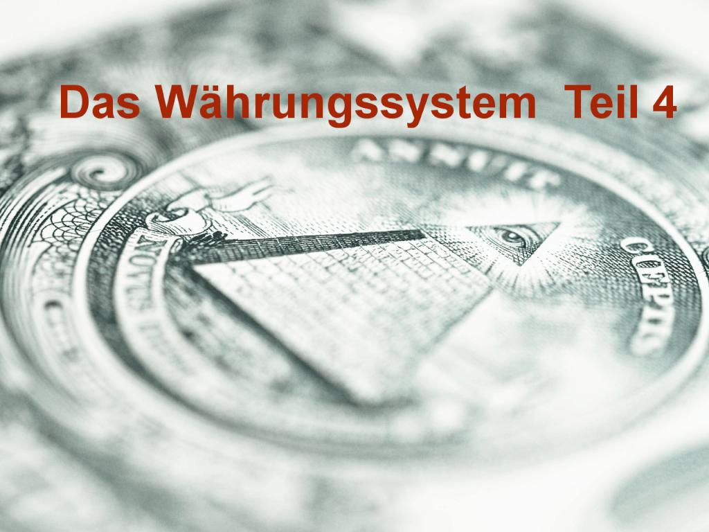 Währungssystem Teil 4 - Grundeinkommen - weshalb Arbeitslosigkeit gut ist