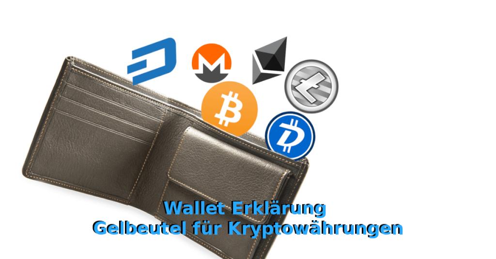 Wallet Erklärung - Gelbeutel für Kryptowährungen