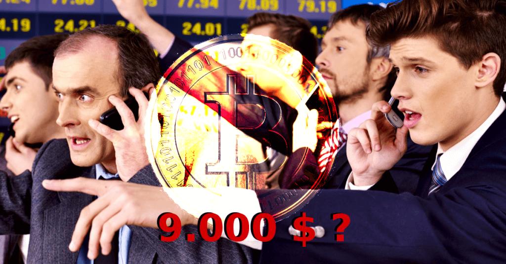 Kommt Bitcoin an 9.000 $ ran?