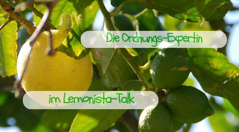 Klein anfangen - groß denken. Nicht nur im Lemonista-Talk!
