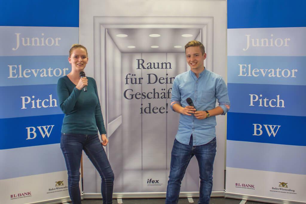 Erster Junior Elevator Pitch BW am 7. Juli 2015 in Stuttgart