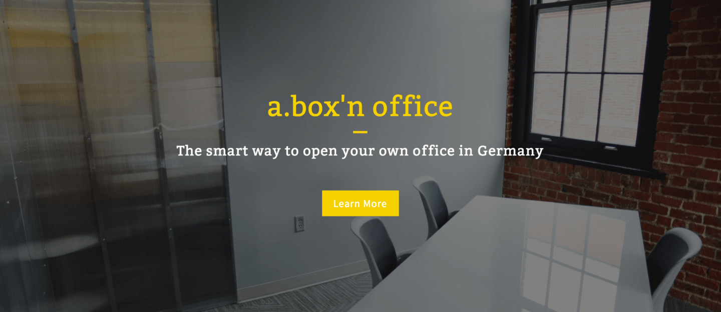 After Brexit: a.box'n office – the smart way to open your office in Germany