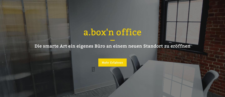 a.box'n office – Die smarte Art ein eigenes Büro an einem neuen Standort zu eröffnen
