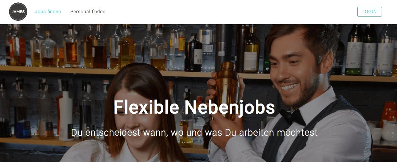 Startup der Woche: Consider James und Ihre Website zur Buchung von Personal für kurzfristige Jobs und Aufgaben
