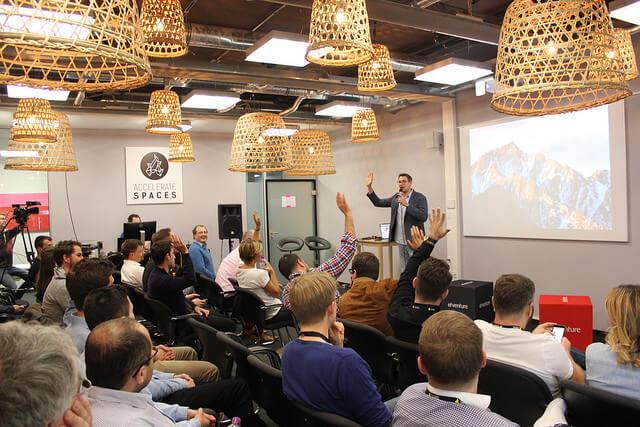 Das war das Corporate Startup Meetup #7