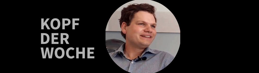 Kopf der Woche – Dominik Schütz Leiter des SVLab der SV SparkassenVersicherung