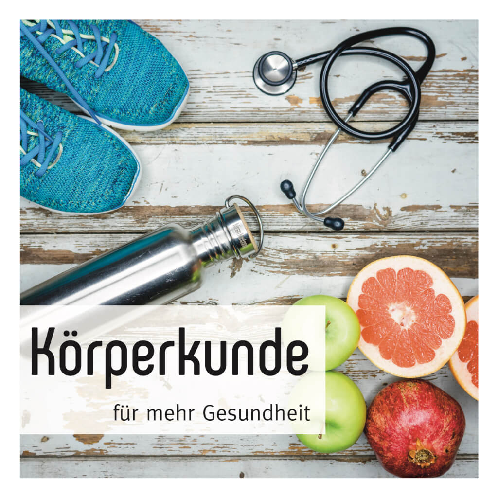 Neues Podcastlogo Körperkunde Podcast