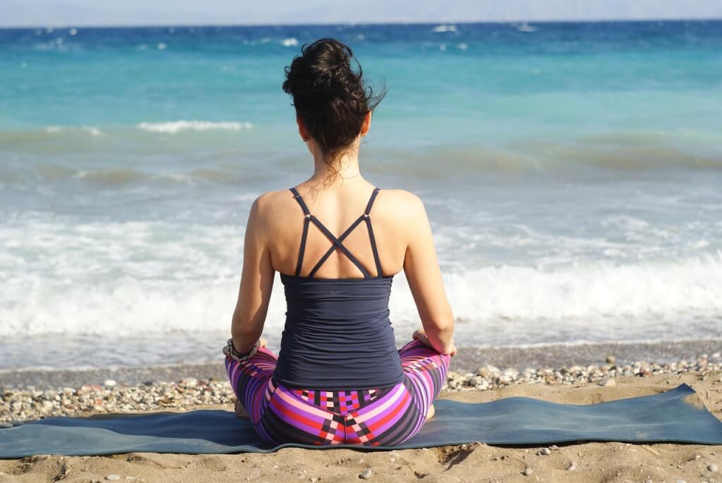 Entspannung für eine gesunde haut