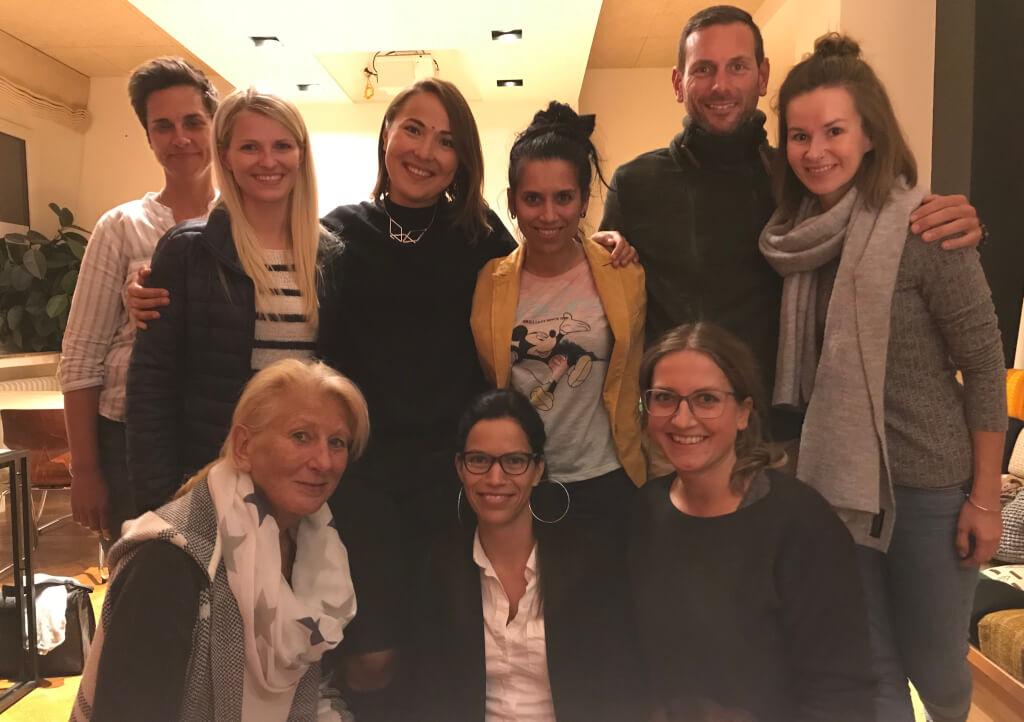 Lachyoga mit Inna, Team Ringana