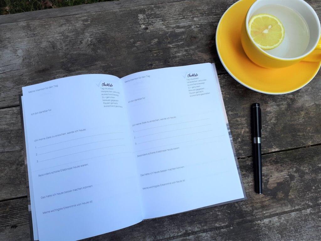 Erfolgstagebuch für Gesundheit | Checkliste