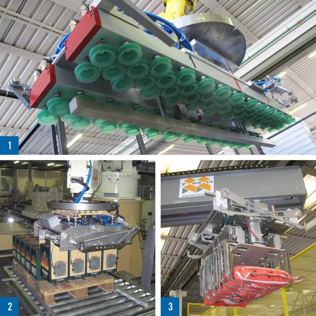 TMG Flexrobot greifer procme gmbh abfuellanlagen etikettiertechnik verpackungsmaschinen