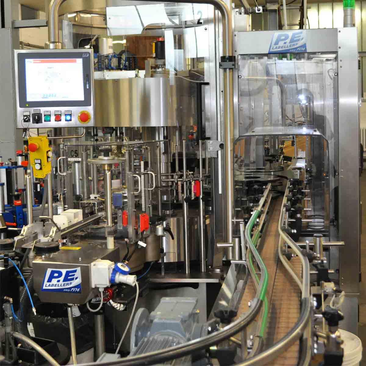 detailansicht modular plus ohlig procme gmbh abfuellanlagen etikettiertechnik verpackungsmaschinen