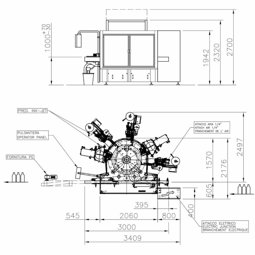 layout modular plus ohlig procme gmbh abfuellanlagen etikettiertechnik verpackungsmaschinen