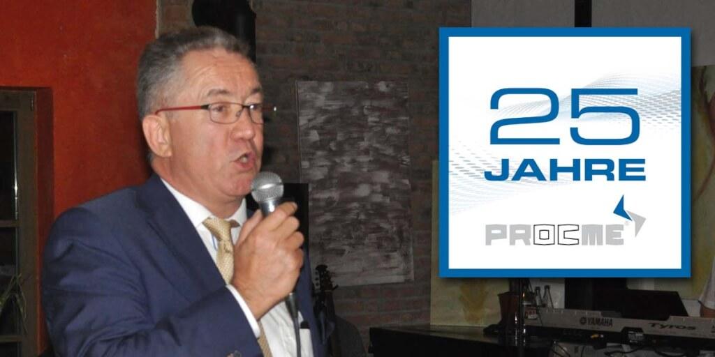 masini 25jahre ansprache procme gmbh abfuellanlagen etikettiertechnik verpackungsmaschinen