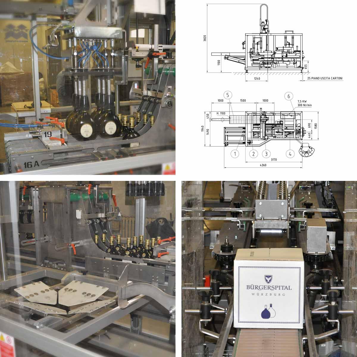 komposition buergerspital procme gmbh abfuellanlagen etikettiertechnik verpackungsmaschinen