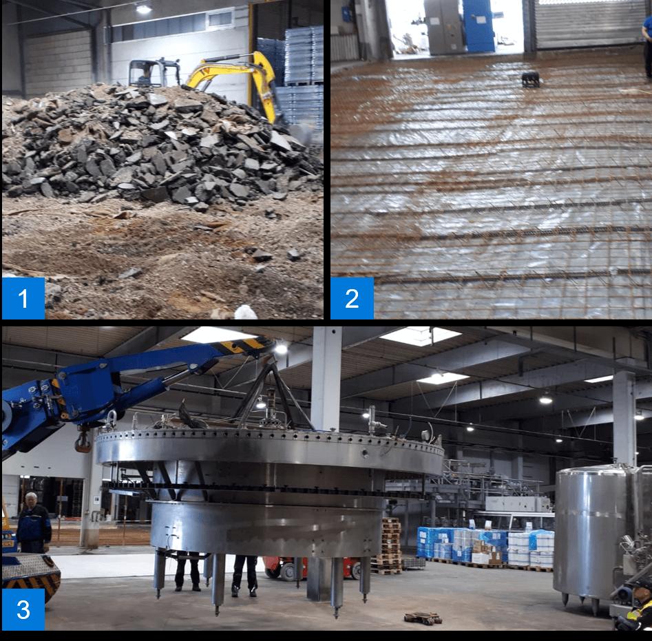 Procme GmbH Ueberholung Abfuellanlage