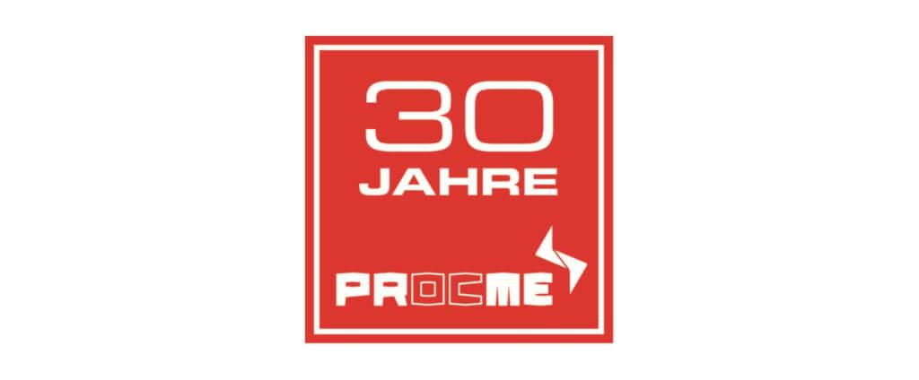 JUBILÄUM: 30 Jahre PROCME – mit viel Energie zum Erfolg