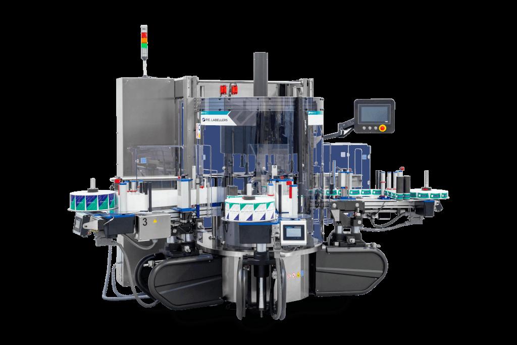 P.E. Labellers neue Etikettiermaschine Modular SL