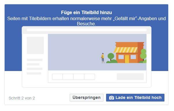 facebook-seite titelbild hochladen