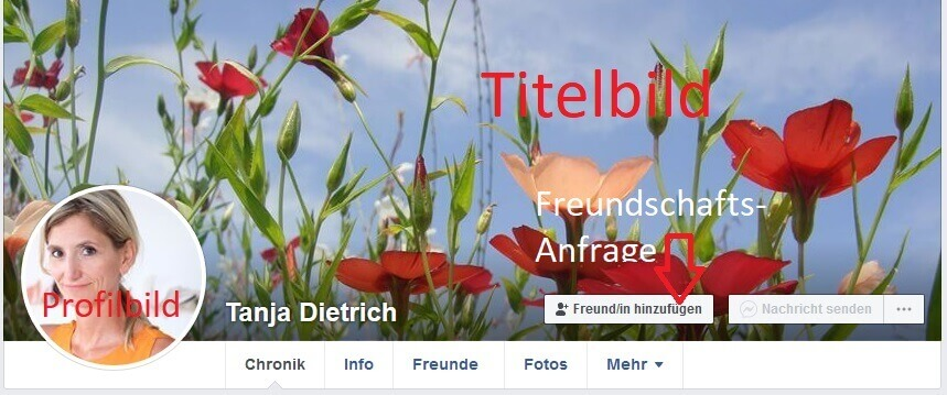 Facebook Profil 1 kl