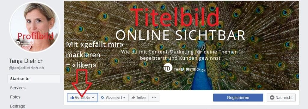 Facebook Seite Titelbild jt