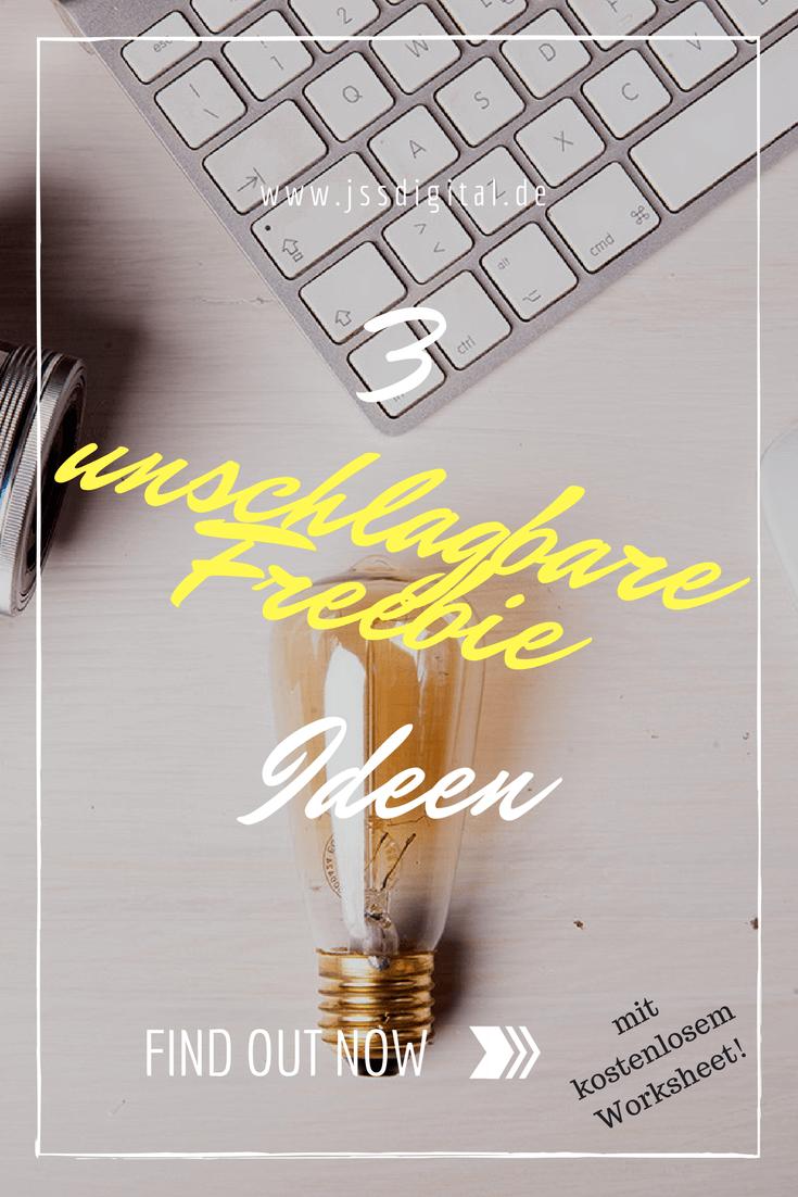 3 unschlagbare Freebie Ideen, mit denen du deinen Leser sicherlich in deine Liste bekommst