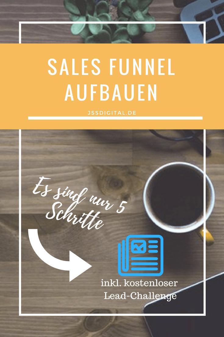 Beitrag: Sales Funnel aufbauen – 5 Schritte zur automatisierten Lead-Generierung