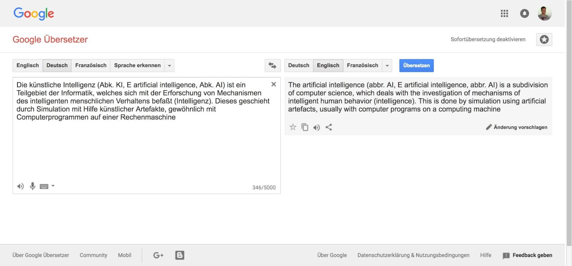 Test 2 Google U  bersetzer
