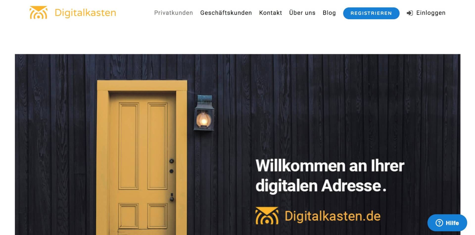 Privatkunden Digitalkasten digitaler Briefkasten 1