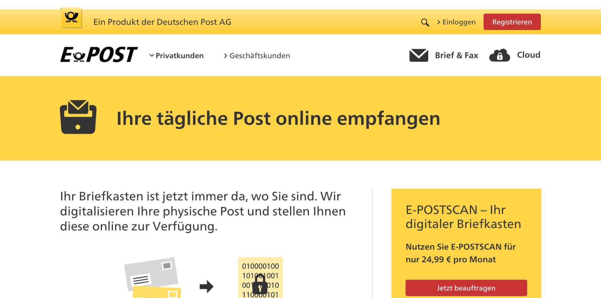 epost scan digitaler briefkasten 1
