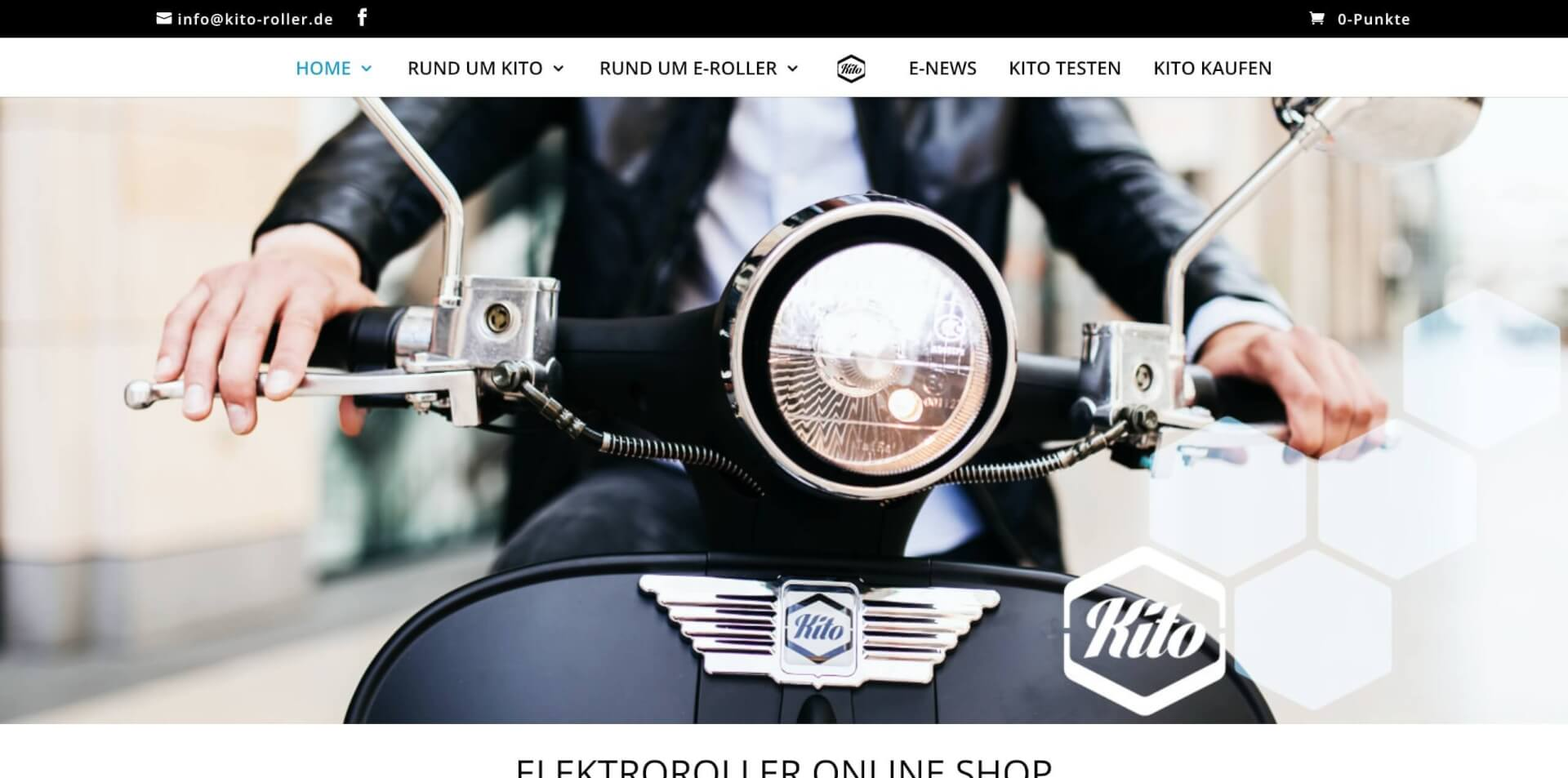 AppScooter E Roller KITO Elektroroller