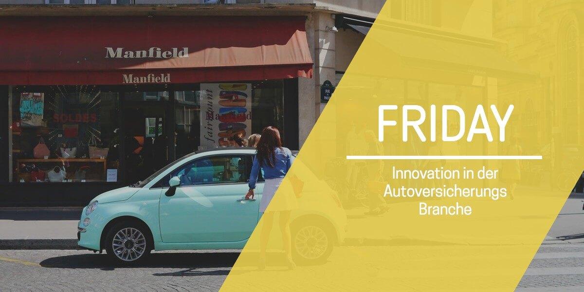 Beitrag: Digitale Autoversicherung FRIDAY rechnet kilometergenau ab