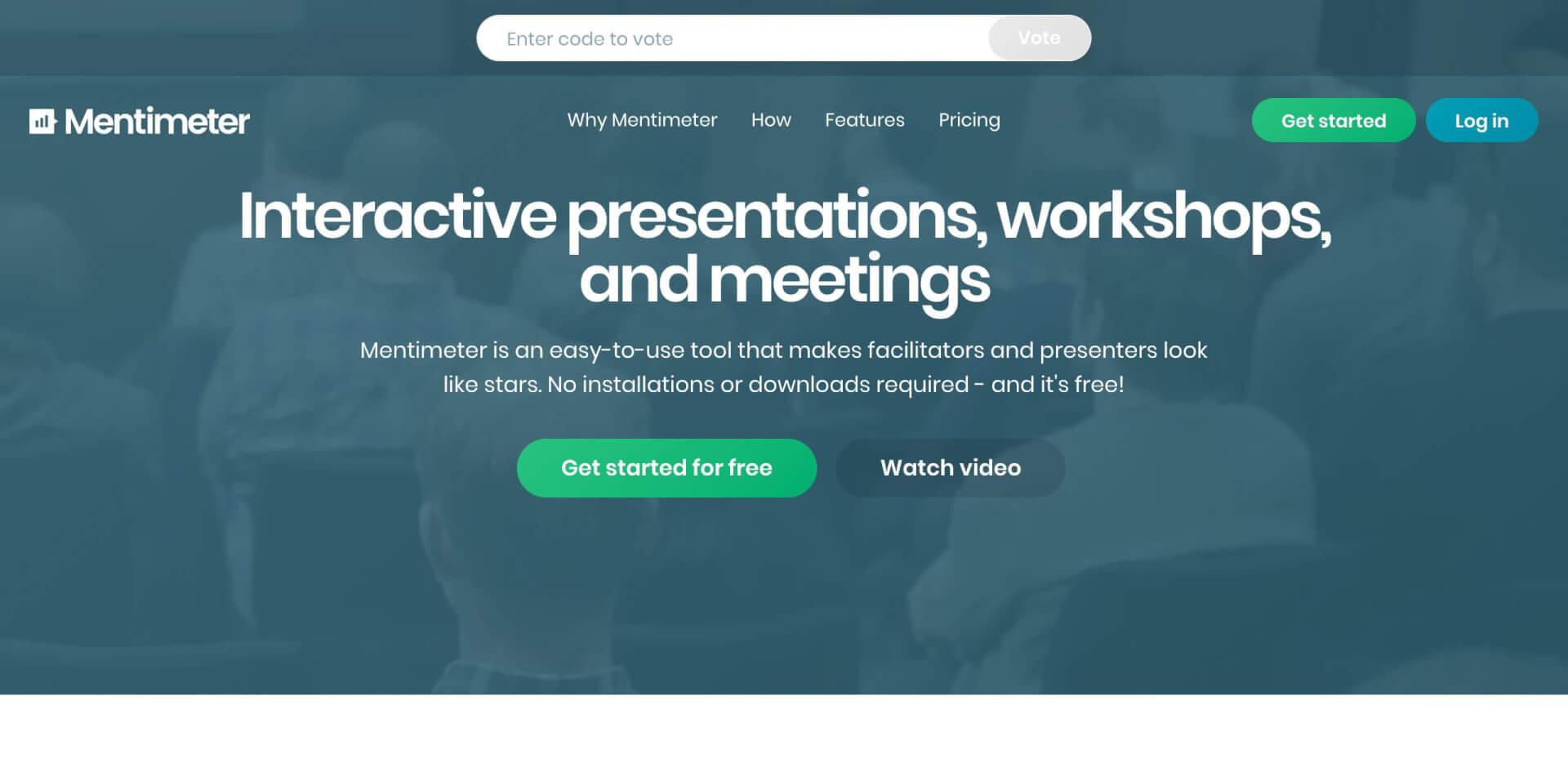 Mentimeter Interactive presentation software JSS Digital 1