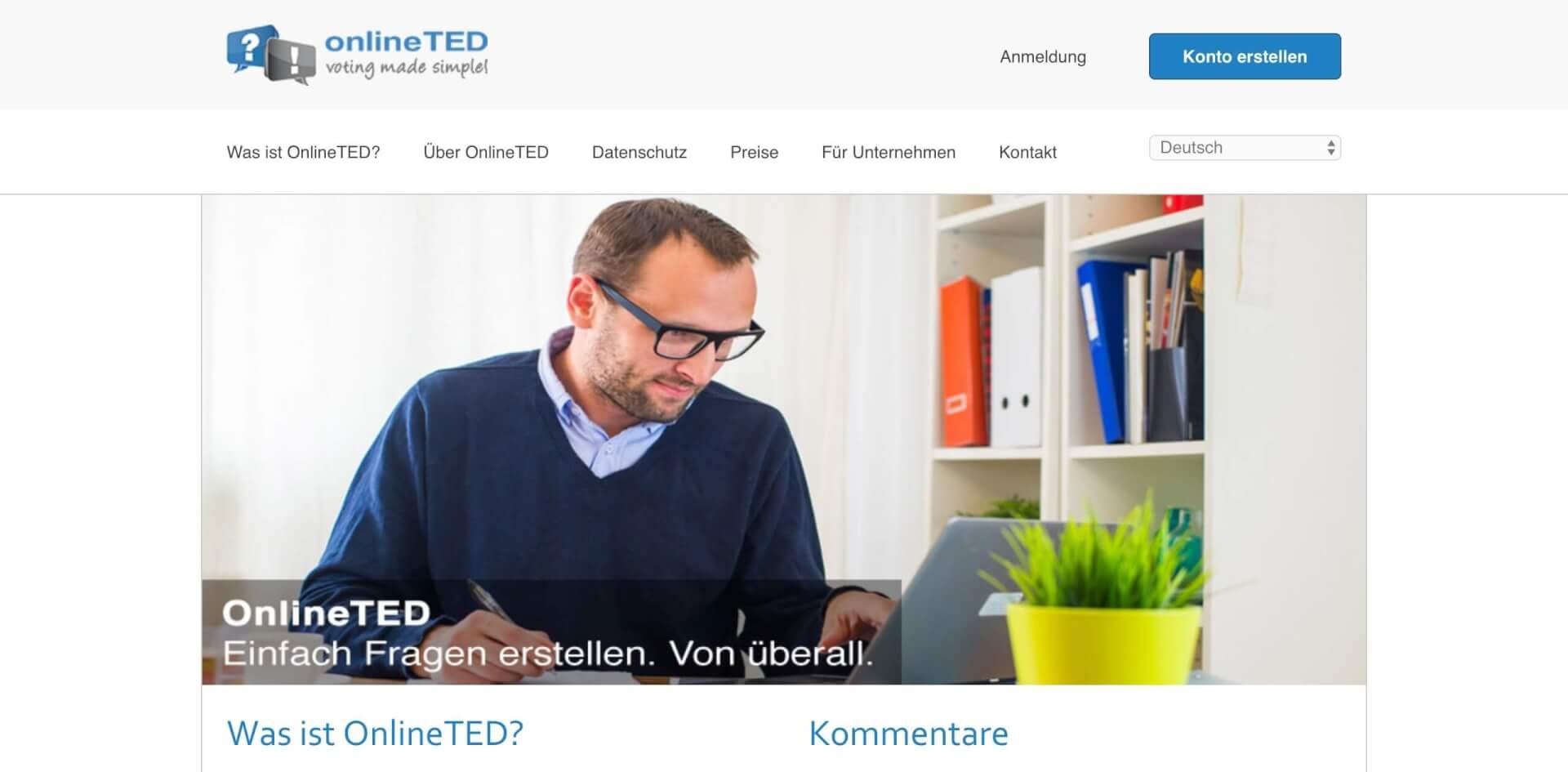 OnlineTED Voting Tool interaktiver Vortrag JSS Digital 1