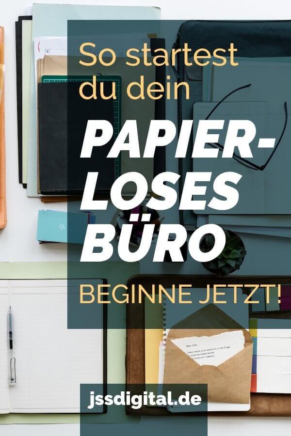 Papierloses Buero Jetzt starten Blog Artikel 1
