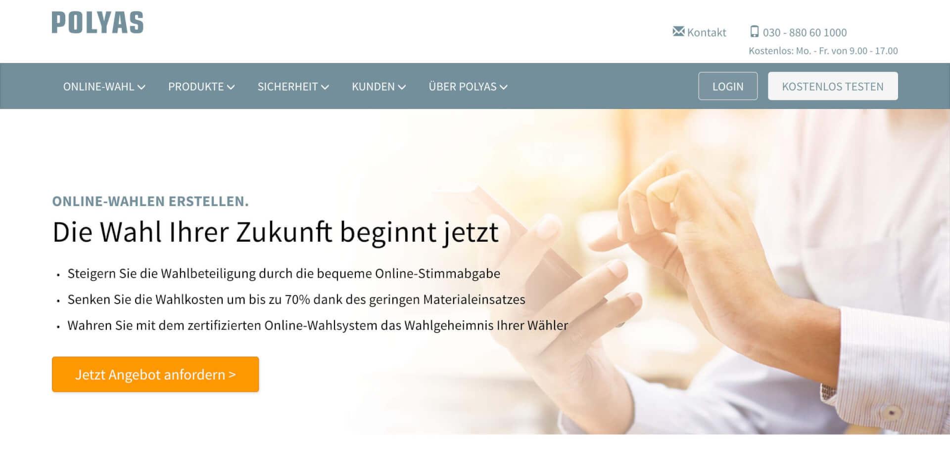 Polyas Online Abstimmungen JSS Digital 1