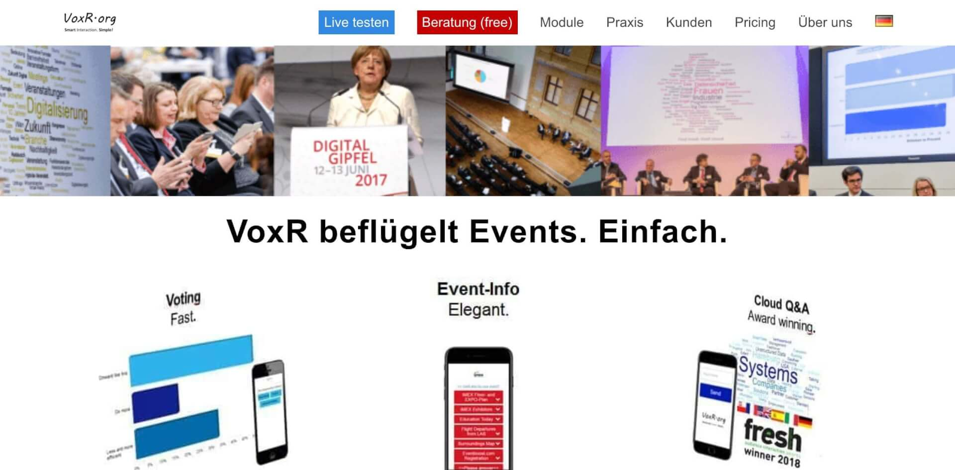 VoxR DE macht Events interaktiver JSS Digital 1