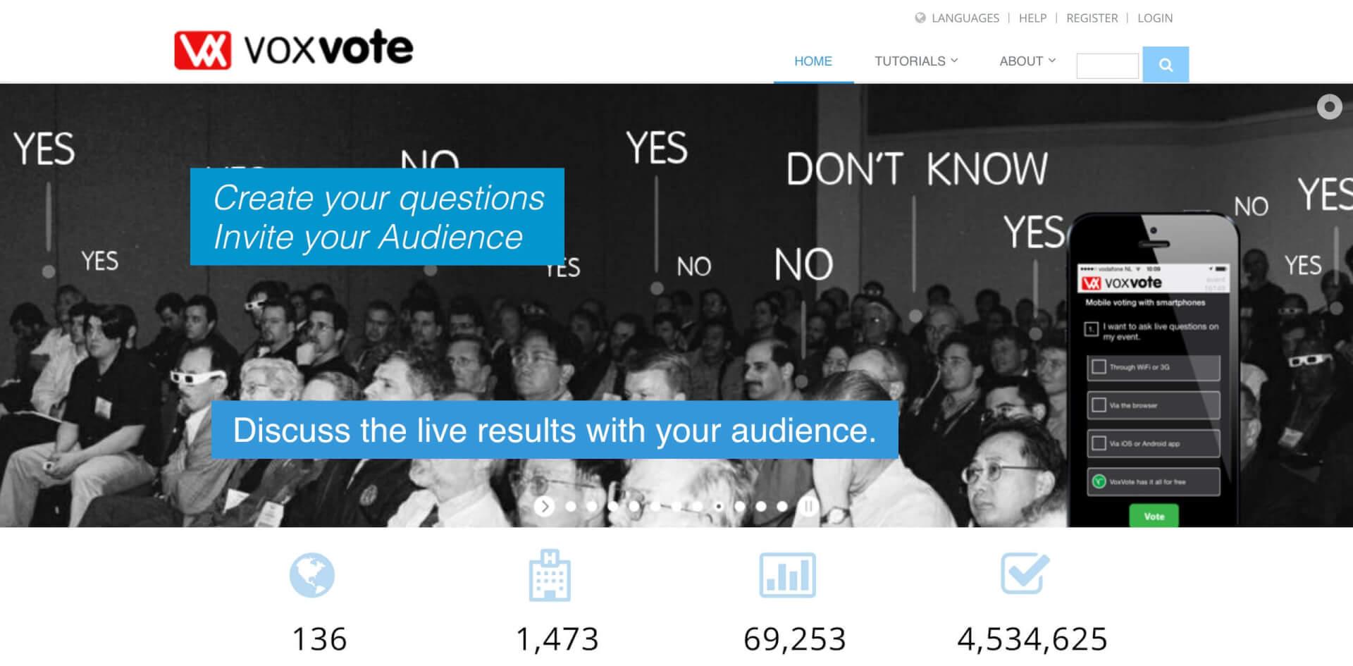VoxVote Mobile Voting Vortrag JSS Digital 1