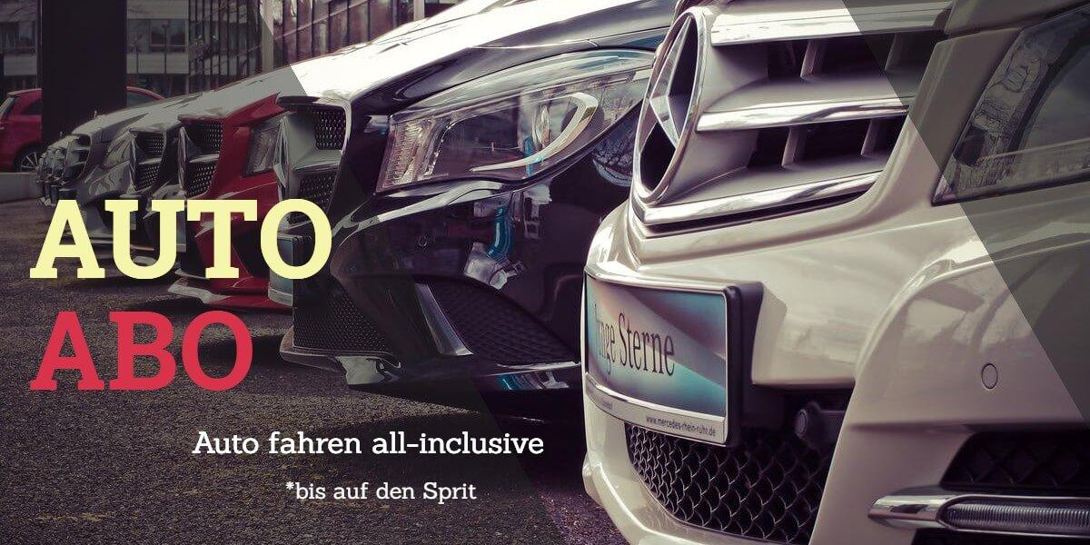 Das Auto Abo – Auto fahren all-inclusive (bis auf den Sprit)